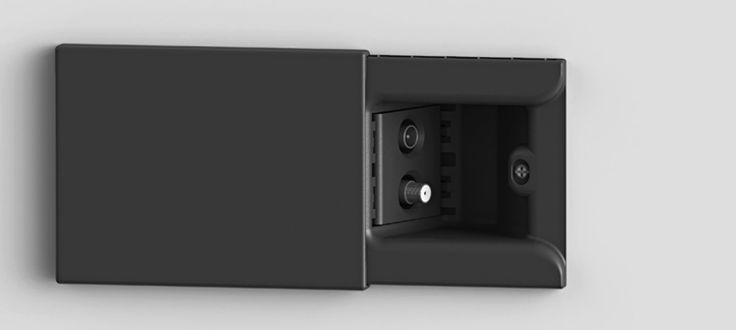 Hide: the socket that hides the plug 4 box
