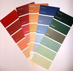 Victorian paint colors are deep, rich colors - but they are not bright, vibrant or 'modern-looking' in any way. They have rather a 'muted', 'toned-down' or old-fashioned look instead.
