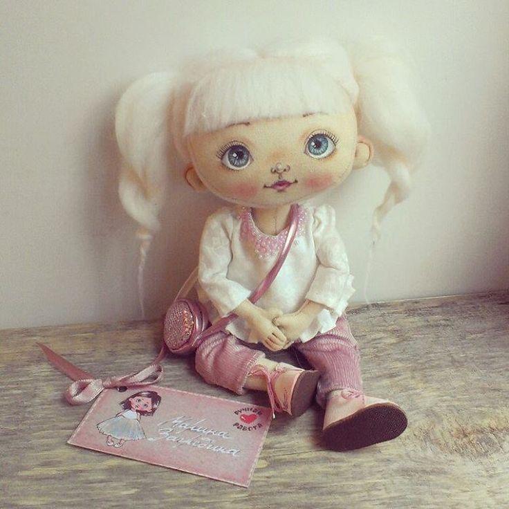 Всем Доброго Утра!!! Кому девочку-конфеточку?! #куклымаринызагребиной #кукласвоимируками#любимаякукла#сделанослюбовью#handmade#lovedoll#madeinrussia