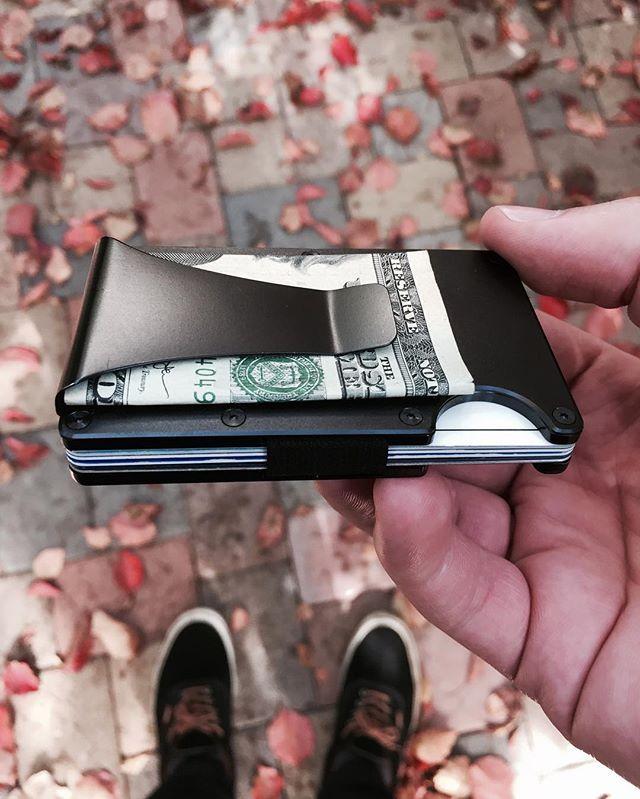 The Ridge Wallet - Aluminum