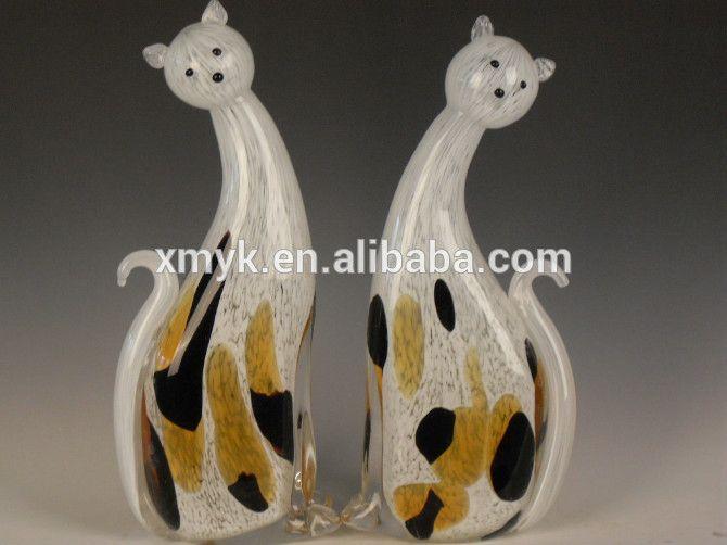 Ручной муранского стекла кошка животное статуэтка с высокое качество-изображение-Ремесла из смола-ID продукта:60333038487-russian.alibaba.com