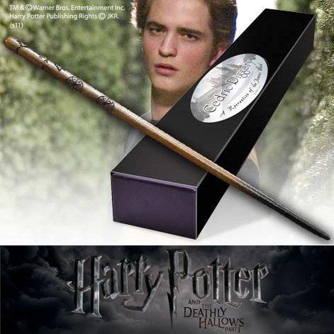 Harry Potter - Bacchetta Magica di Cedric Diggory http://www.coltelleriacollini.it/harry-potter-bacchetta-magica-di-cedric-diggory/