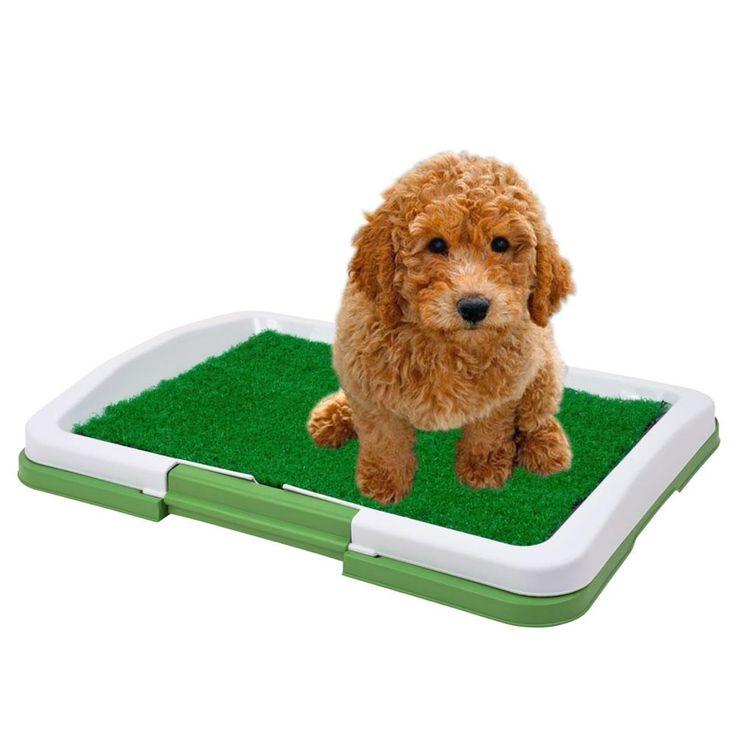 Sanitario Canino Puppy Potty Pad grama artificial CBR01119 -Pet shop - Higiene e Limpeza - Walmart.com