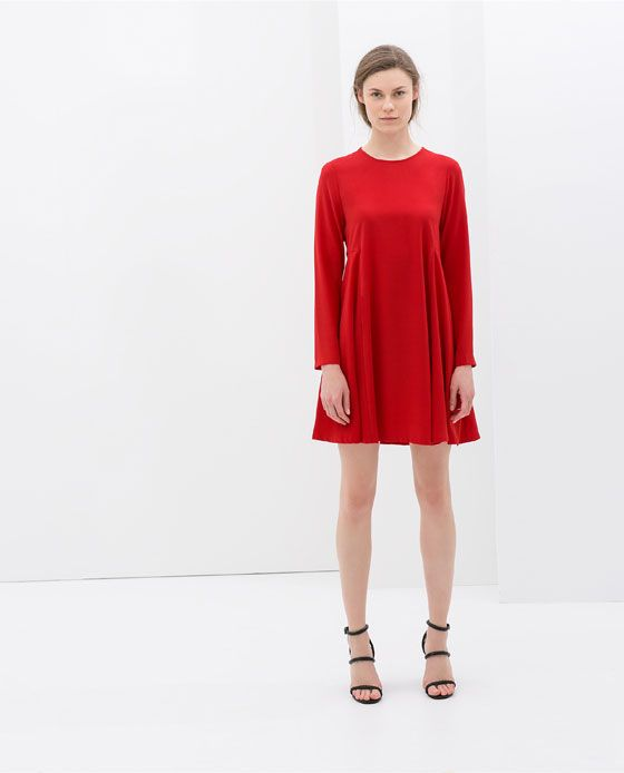 Image 1 of BABY DOLL DRESS from Zara