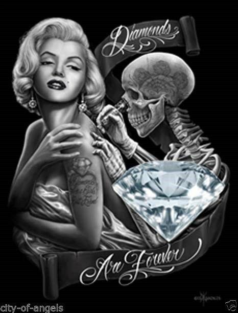 art - par David Gonzales - Divine Marilyn Monroe