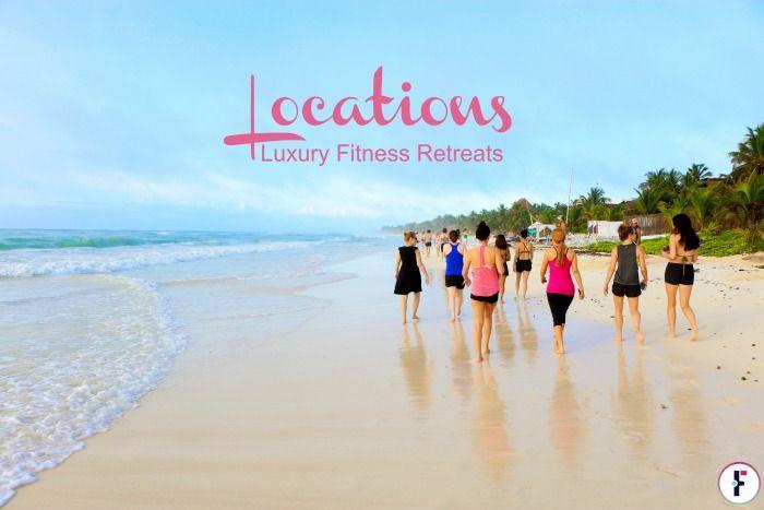 Multiple Locations - Luxury Fitness Retreat | FIT & Flirty #travel #luxuryfitnessretreats