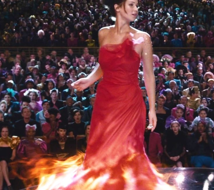 Katniss Everdeen- Red Dress Detail | Everything Halloween ...