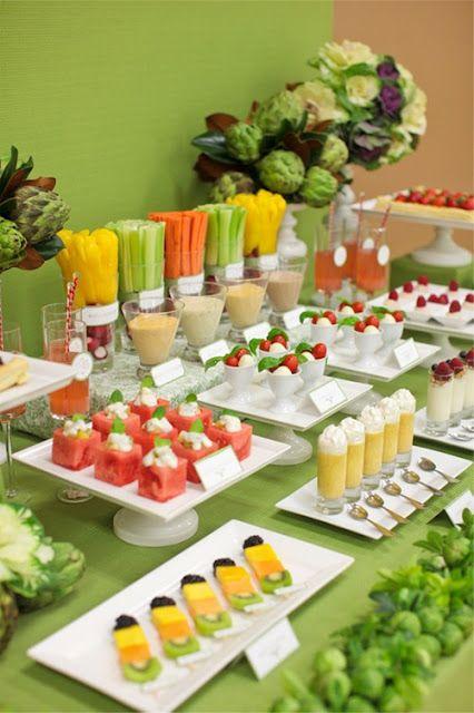 Shomei Pear: Veggie & Fruit Table