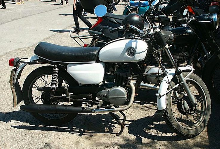 1960's Polish WSK Motorcycle B06B3 125cc Single Two-Stroke engine
