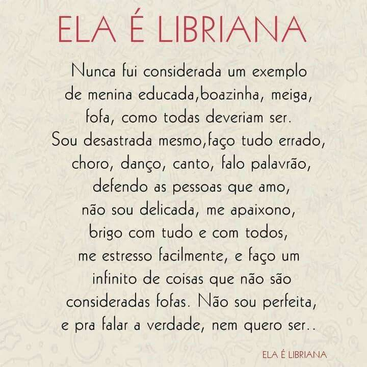 Ela é Libriana