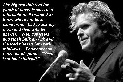 Saw Ron White tonight, wasn't expecting this level of insight... - Imgur