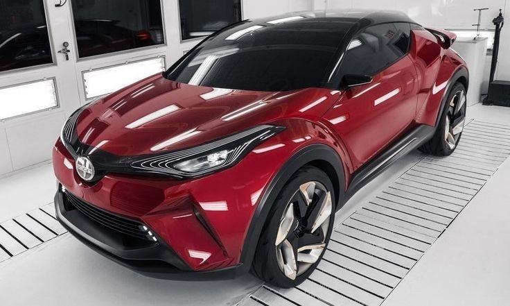 Scion C-HR Concept Previews Scion's First Crossover http://www.autotribute.com/42318/scion-c-hr-conirst-crossover/ #Scion #scioncrossover #SUV #ScionSUV