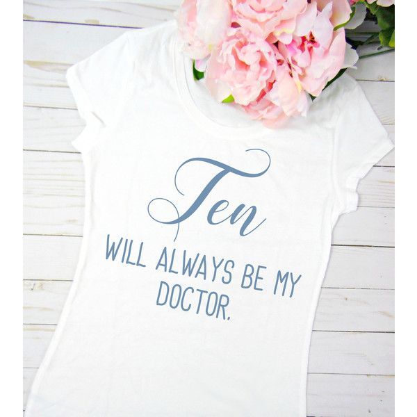The Doctor Geeky T Shirt Doctor T Shirt Women's T Shirt Women's T... (€16) ❤ liked on Polyvore featuring tops, t-shirts, silver, women's clothing, tee-shirt, shirt top, white shirt, christmas tops and christmas t shirts