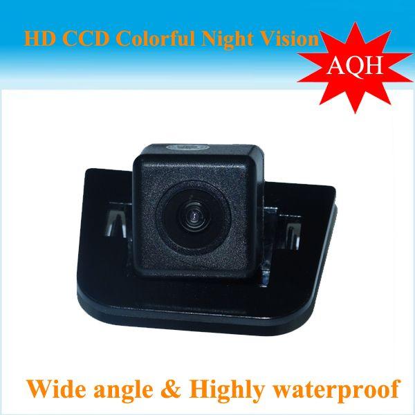 SONY CCD HD de vision nocturne Vue Arrière de Voiture caméra De Sauvegarde aide au stationnement système moniteur rétroviseur caméra de recul pour 2012 Toyota Prius