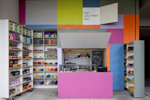 Brazilian Tea Shop Pops Out Of The Wall: Sao Paulo, Gourmet Teas, Teas Shops, Pop Up, Interiors Design, Alan Chu, Stores, Alanchu, Saopaulo