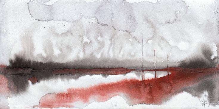 https://flic.kr/p/226SUoQ | st | watercolor on paper 21/10.5 cm - 2017