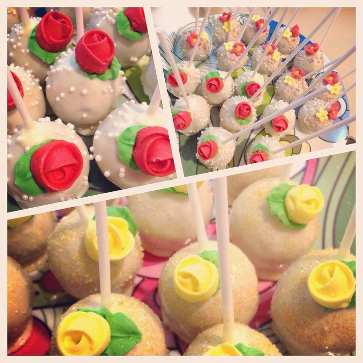 Floral cakepops #golipops