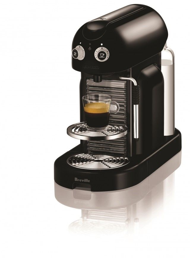 The latest good looking coffee maker from Nespresso & Breville