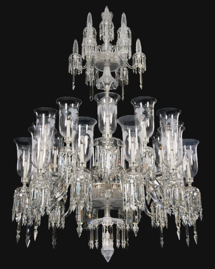 1609 best chandeliers images on pinterest chandeliers crystal a victorian cut glass chandelier circa 1870 aloadofball Choice Image