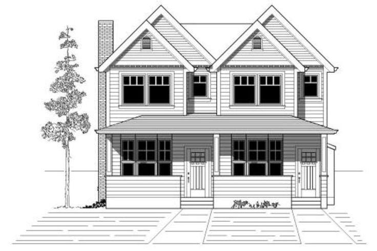 46 best duplex multiplex home designs images on for Duplex bungalow elevation