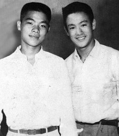 -A Very Young William Cheung & Bruce Lee-