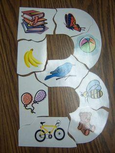 Letter puzzles- SUPER CUTE SITE!