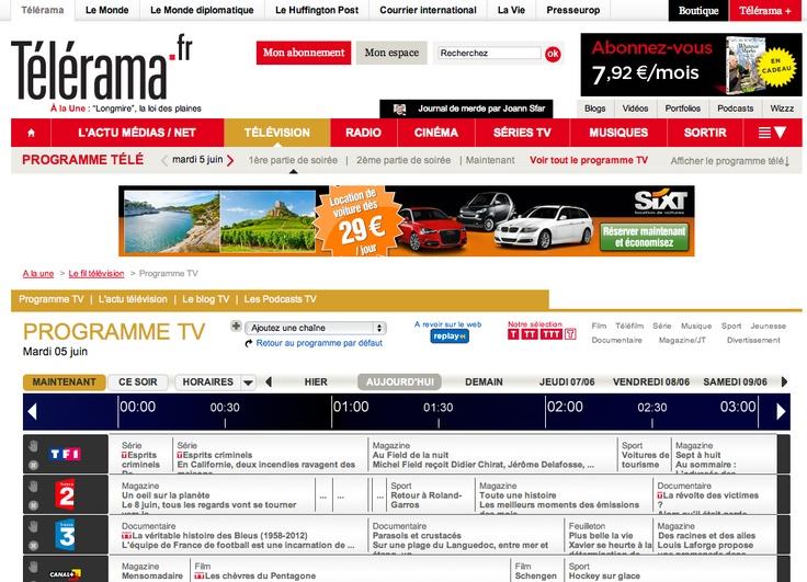 Télérama - Programme TV