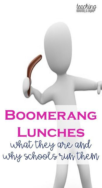 What is a boomerang lunch or a waste free lunch program? Why do schools ask for a boomerang lunch? Get your answers for these questions here!
