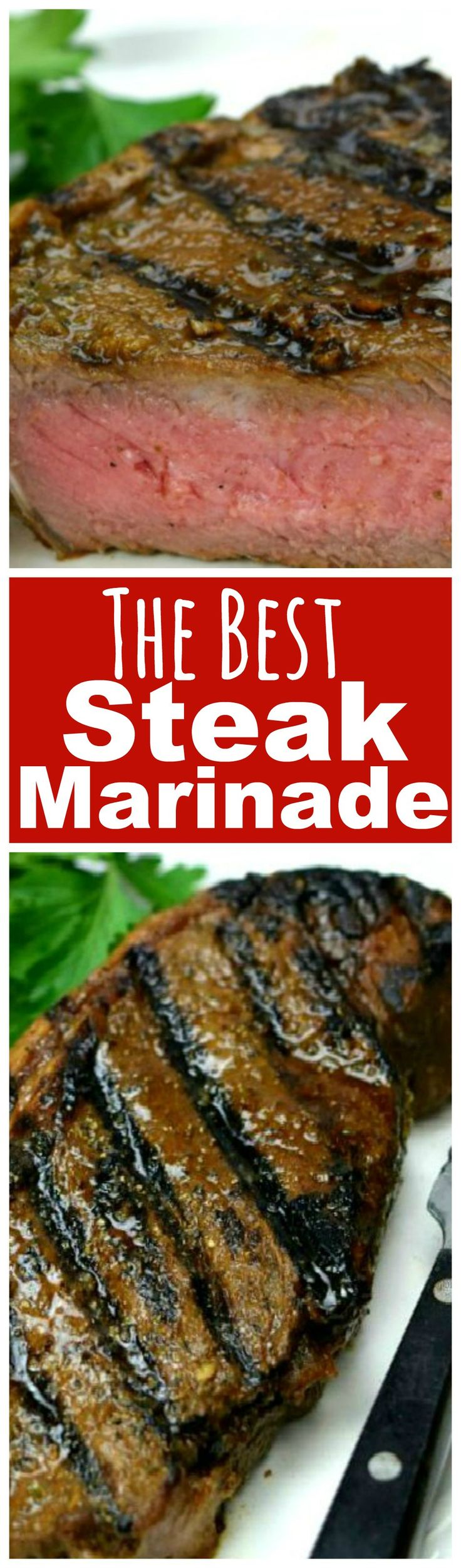 No more relegating steak to special occasion status! Even inexpensive cuts of beef will satisfy when you use my Steak Marinade. Fire up your grill, STAT!
