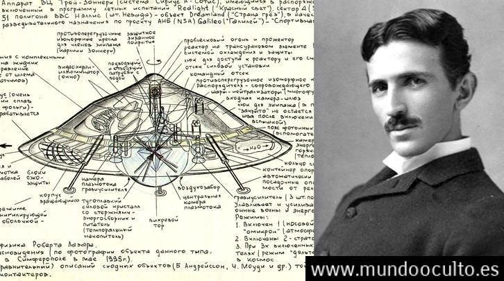 El OVNI de Tesla: El primer platillo volador del mundo