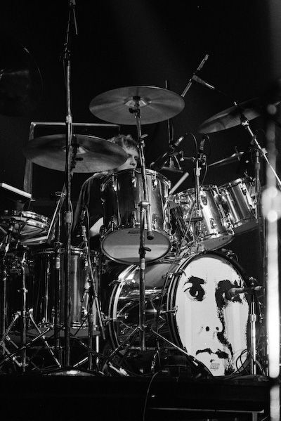 Roger Taylor Of Queen In Concert Hamburg W Germany May 16 1982