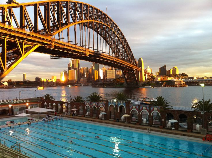Swimming lessons @ North Sydney Olympic Pool