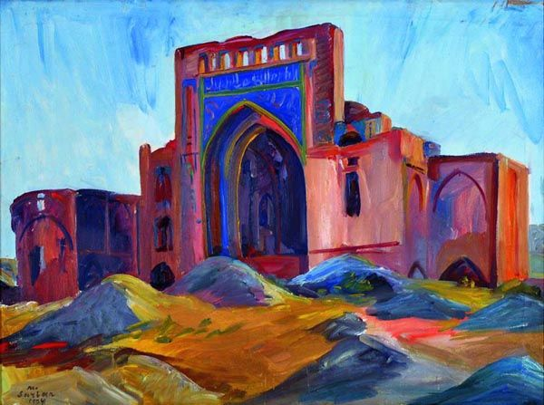 painting by Мартирос Сарьян, an Armenian painter
