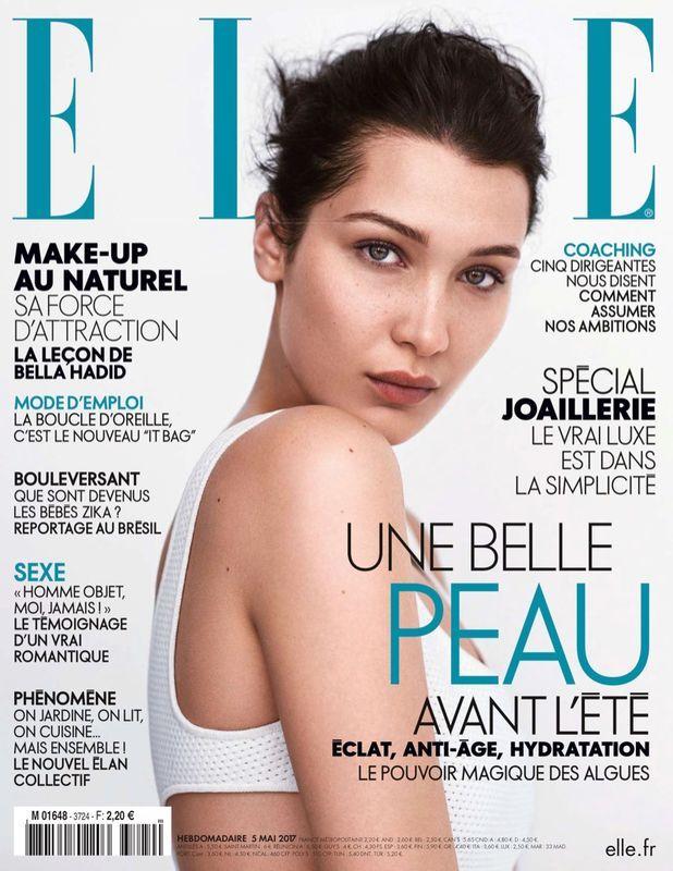 Bella Hadid na okładce ELLE France