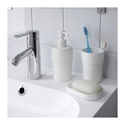 ENUDDEN Soap dispenser, white - - - IKEA