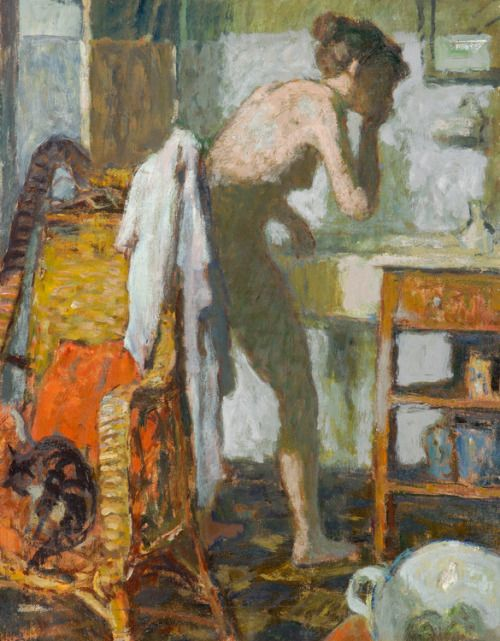 "huariqueje:  "" Tandenpoetsen (Tooth brushing) - Theo Kurpershoek  Dutch painter 1914-1998  """