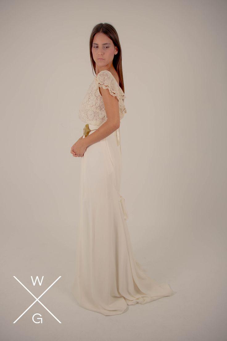 White Chiara By Gatache Wedding Weddingdrees Bridal