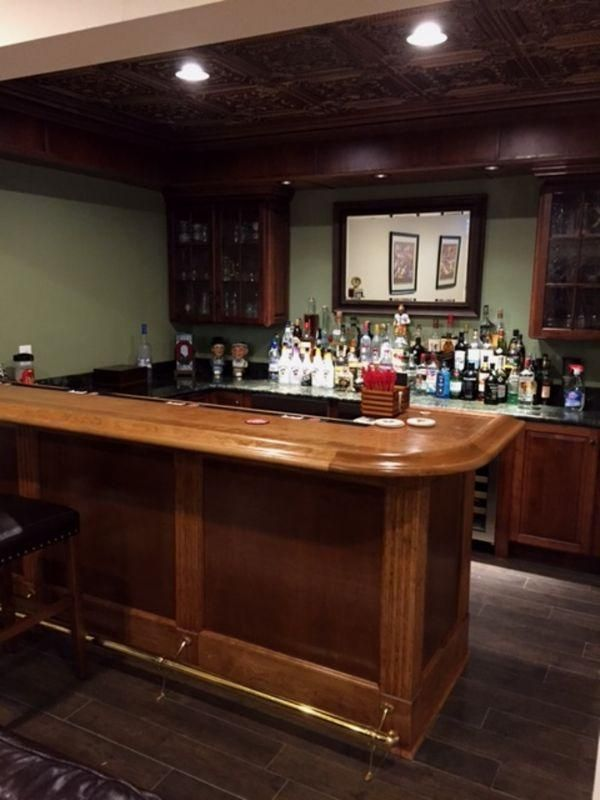 Marvelous Finished Bar Photo Gallery Bar Rails U0026 Parts Diy Home