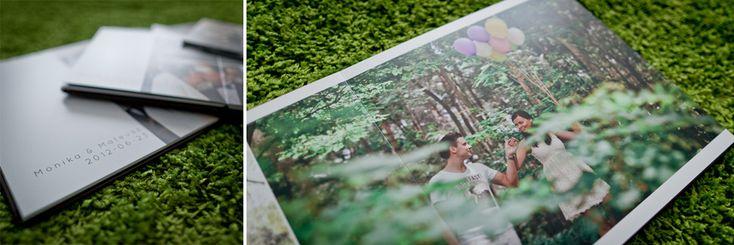 wedding album design by pofoto.pl