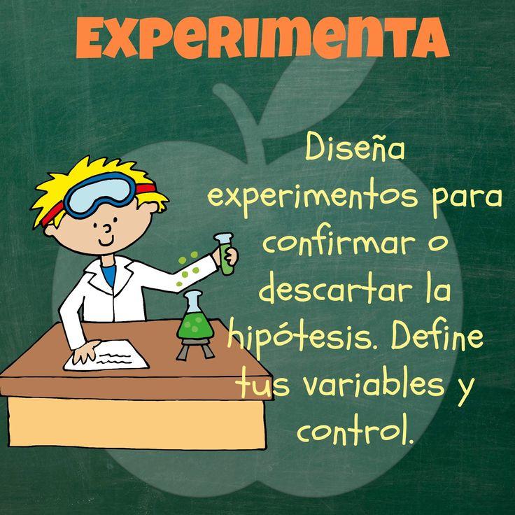 Enseñar el método científico siempre ha sido muy difícil, y la razón de esto puede ser que, explicar cada etapa resulta complicado, ya que...