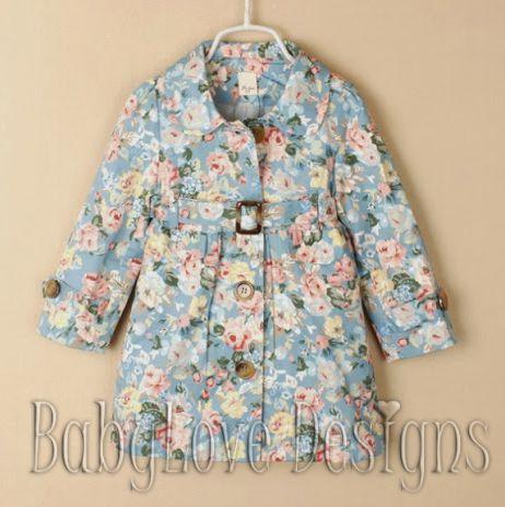 Girls Floral Jacket $30 + P&H