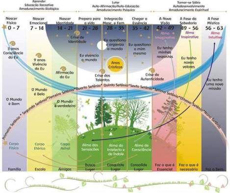 Las etapas de nuestra vida. El alma humana
