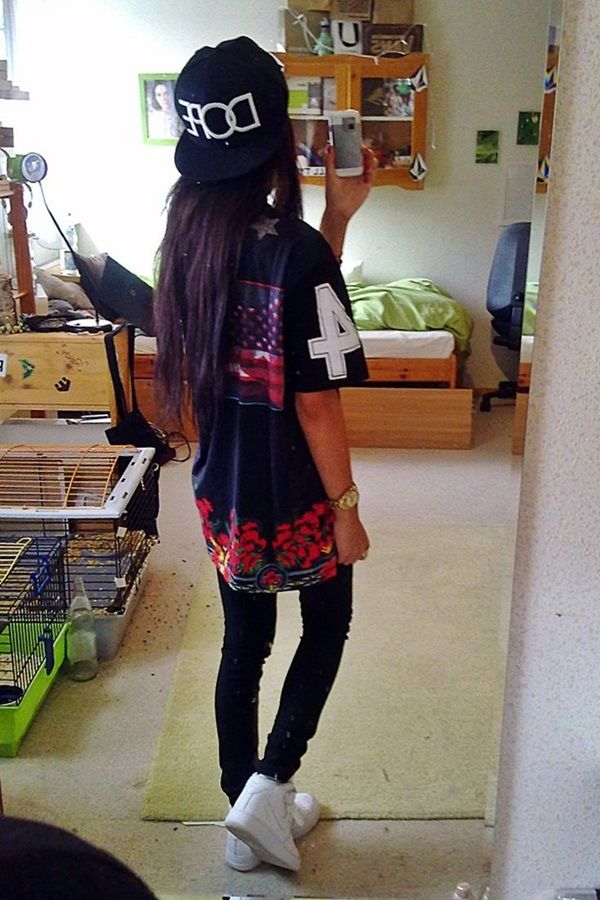 Cool Dope Fashion and Outfit Ideas For Girls  (22)