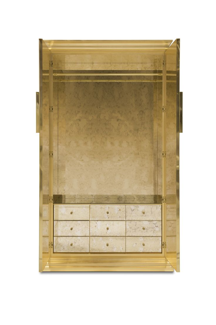 Awesome Mademoiselle Armoire By Koket #koket #french #design #butterfly #gold # Armoire Design Ideas