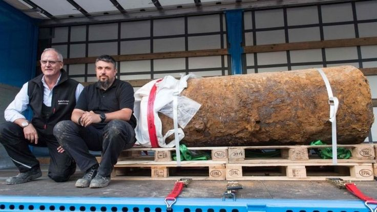 TIL Germany has a bomb disposal unit called the Kampfmittelbeseitigungsdienst (seriously) and they help defuse some of the 2000 tons of unexploded WWII ordinance found each year including a 1.4 ton British bomb today that required the evacuation of 65000 residents.