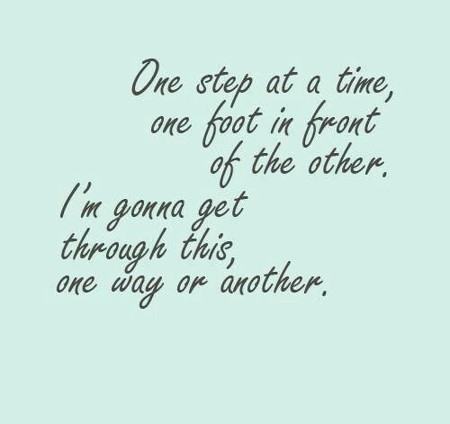 One way or another I'm going to get through this! ❤ #ChronicIllnessQuotes