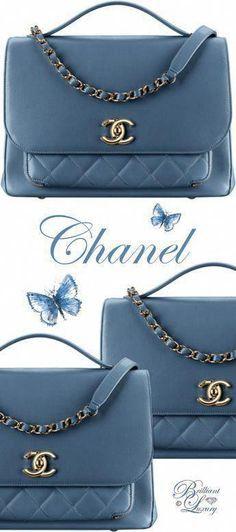 Brilliant Luxury by Emmy DE  Chanel Flap Bag With Top Handle #DesignerHandbagsRa…