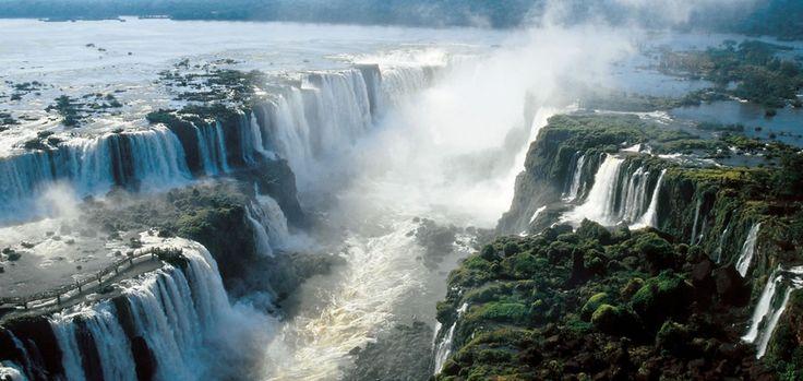 Iguazu Falls - Popular Natural Tourist Spots in Brazil