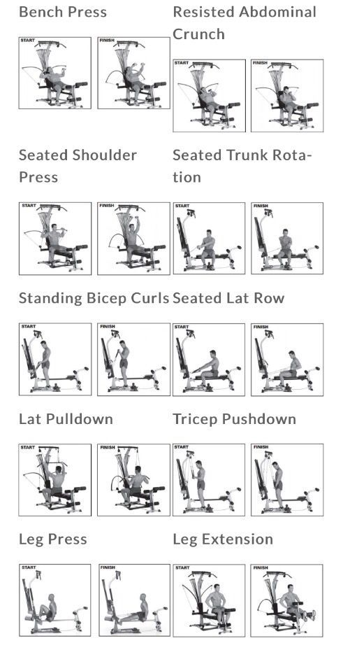 Pin by Ashley Peach on Health Stuff | Bowflex workout ...