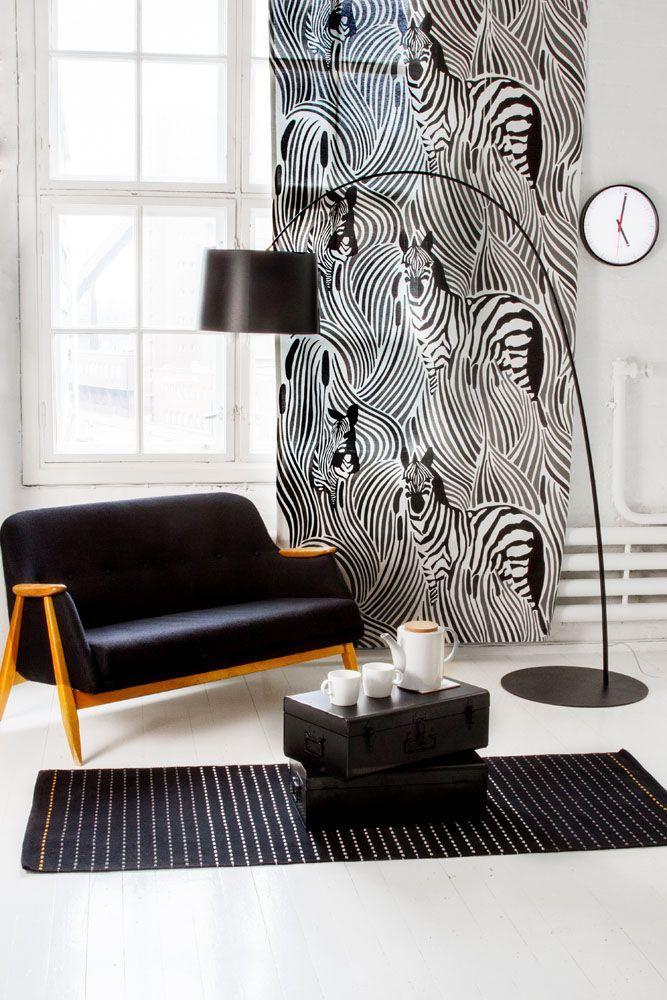 Vallila Interior AW14 collection, Piilossa curtain & Liminka rug